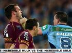 MOST POPULAR: The winning State of Origin meme by Helena Moore from Warwick.