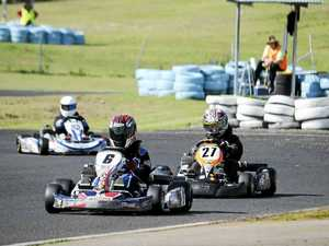 Kart racer Briggs achieves milestone win on home track