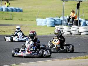 Kart racer Briggs achieves milestone win on home track