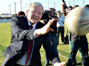 Kevin Rudd visits Mackay