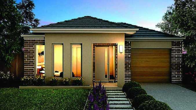 Milestone range hotondo homes primo design with the optional haven facade