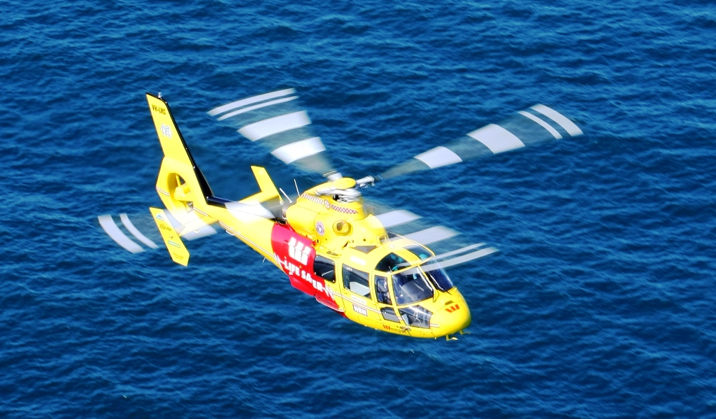The Westpac Lifesaver Helicopter crew will perform demonstrations at the Brolga Theatre on Friday morning before visiting three schools.