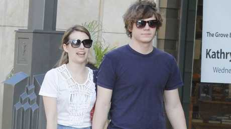 Emma Roberts and Evan Peters