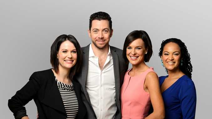 From left Natasha Exelby, James Mathison, Natarsha Belling and Nuala Hafner.