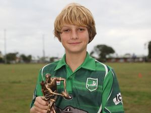 Under 12s player stood head and shoulders above the rest