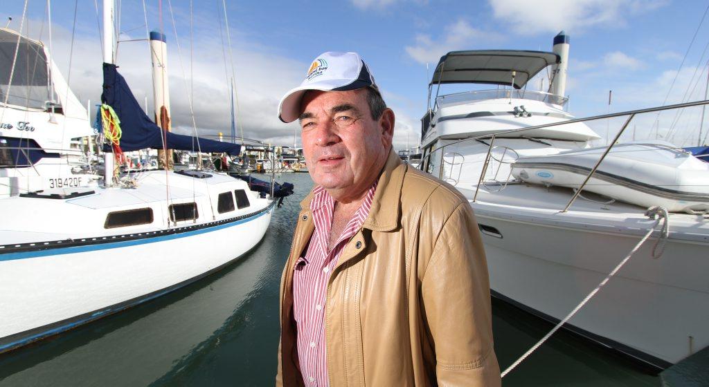 Richard Wilson at Keppel Bay Marina. Photo: Chris Ison / The Morning Bulletin