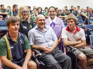 Ultrasound expert gives talk to inspire future scientists
