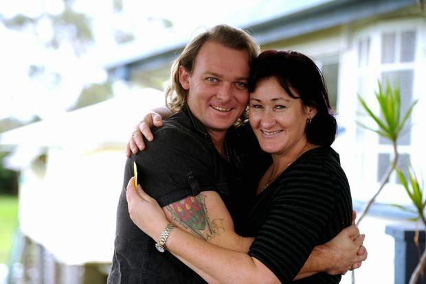 Daniel Gassman with his wife Rebecca.
