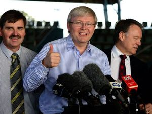 Dear Kevin Rudd, you signed a contract - get on with it