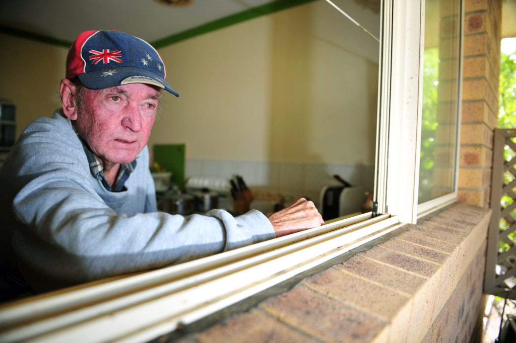 Image for sale: SPOOKY TALES: Moore Park Beach resident claims to have seen some strange things around his home. Photo: Max Fleet / NewsMail