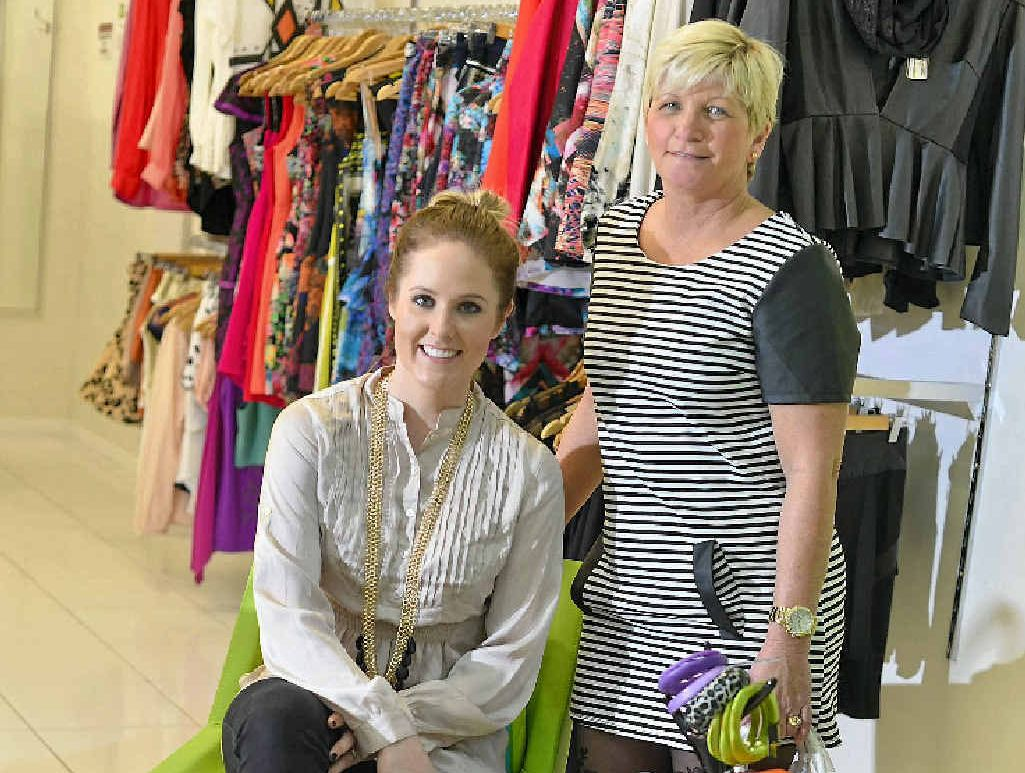 Saltt Clothing's Lynette Morgan and Kayla Marshall say retailers face a battle in Gladstone.