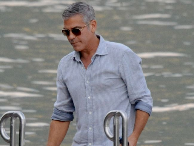 George Clooney has stepped down as