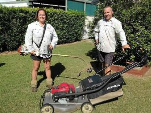 Pair gets mowing contract