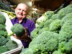 Robbie Dunnett says broccoli is a big seller at his Frenchville fruit and vegetable store. Customers are taking advantage of cheap prices, stocking up on the vitamin-rich vegetable.