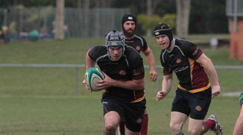 Caboolture Snakes player Adam Keene in game against University. Photo Darryn Smith / Caboolture News
