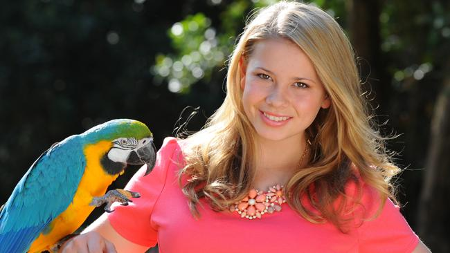 Wildlife warrior Bindi Irwin.