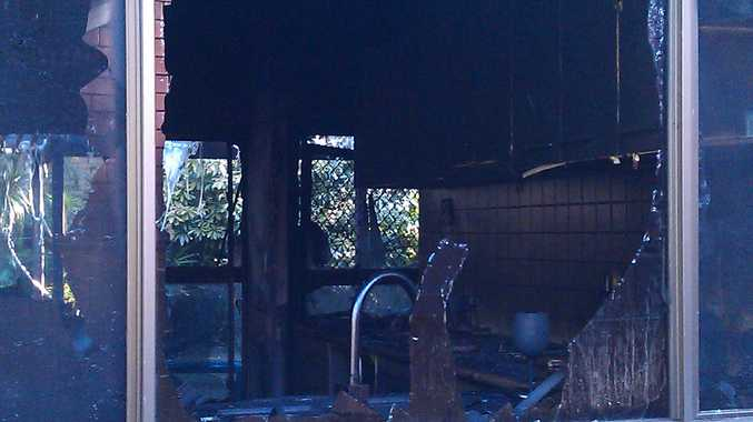 A Mooloolaba house was destroyed by fire on Sunday morning.