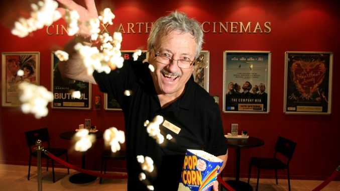 Stephen Buge at Kingscliff Cinemax Cinema. Magic of movies.