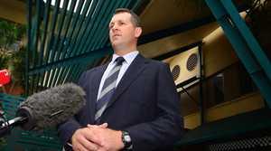 Gladstone Police Criminal Investigation Branch Detective Senior Sergeant Luke Peachey.