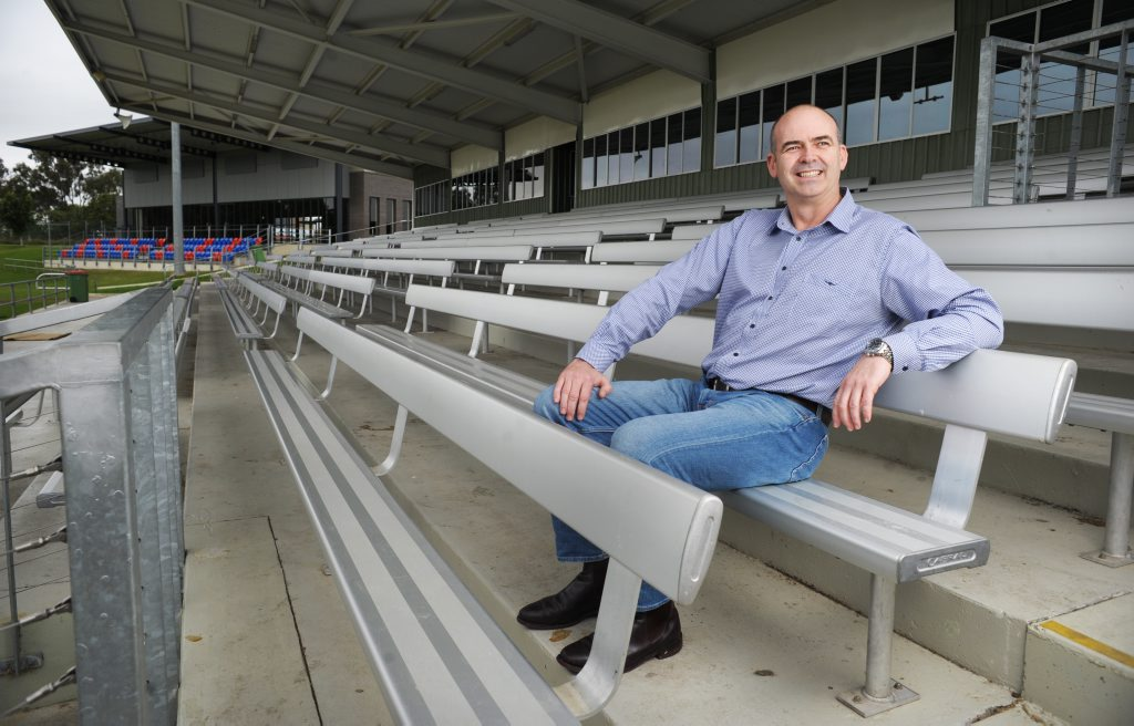 Palmer United Party candidate Anthony Stanton has plans to build a 20,000 seat stadium at North Ipswich.