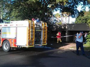 Family saved as fire destroys Mooloolaba home