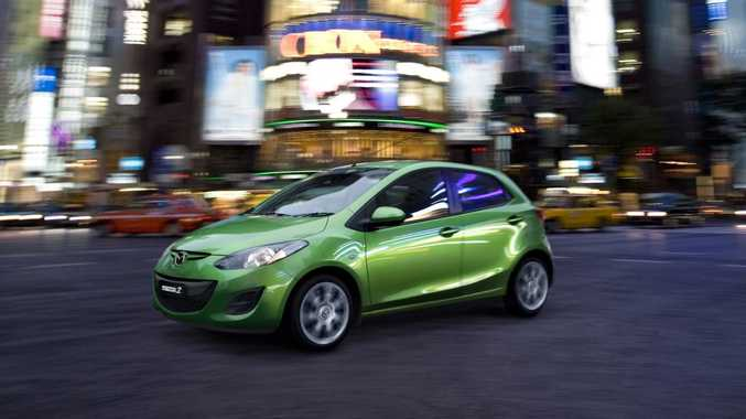 The Mazda2 is the only 'light'-sized car to gain four stars.