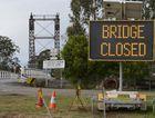 The McFarlane Bridge at Maclean closed between 9.30 and 2.30pm for maintenance work. Photo Adam Hourigan / The Daily Examiner