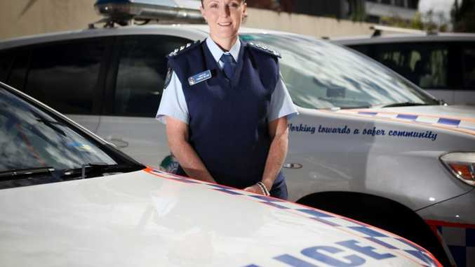 Inspector Virginia Nelson urged motorists to exercise caution in wet, slippery conditions.