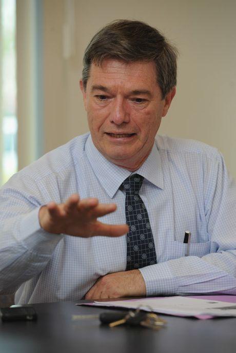 Former chairman of Wide Bay Water Danny Mattsson.