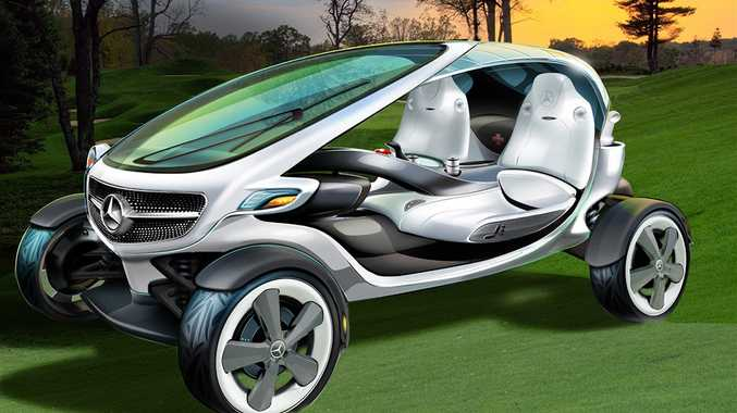 The Mercedes-Benz Golf Cart concept.