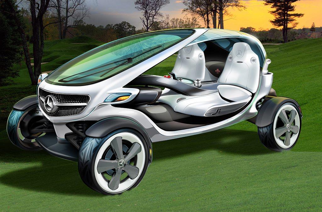 The Mercedes-Benz Golf Cart concept.