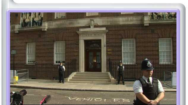 UK's Sun newspaper has set up a Royal baby monitor with a live camera stream outside the hospital.