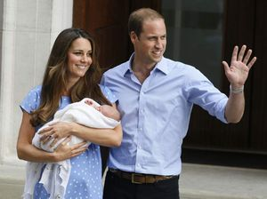 First glimpse of Kate and Wills' prince