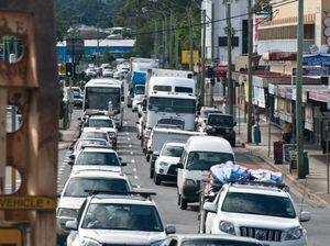 Arterial roads gridlocked south of Coffs Harbour CBD