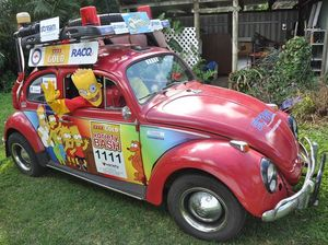 Bartmobile is out to have a bash and raise funds for kids