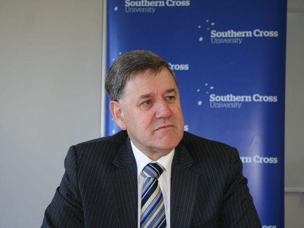 SCU vice-chancellor Peter Lee