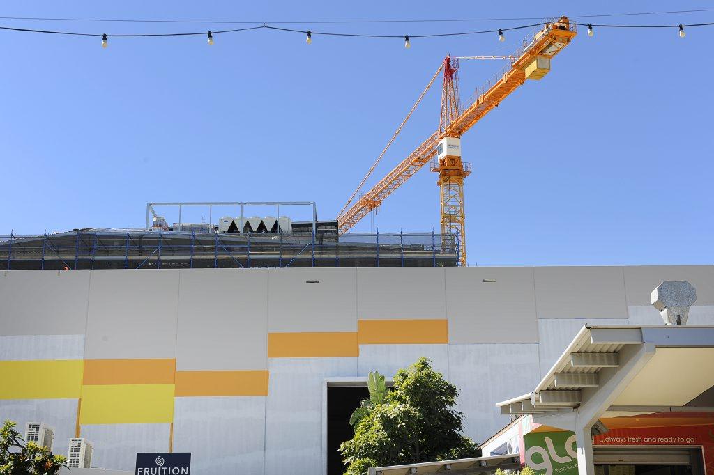 The Gladstone Entertainment Centre construction project.