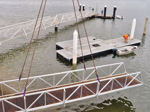 Rescuers back in business thanks to new pontoon