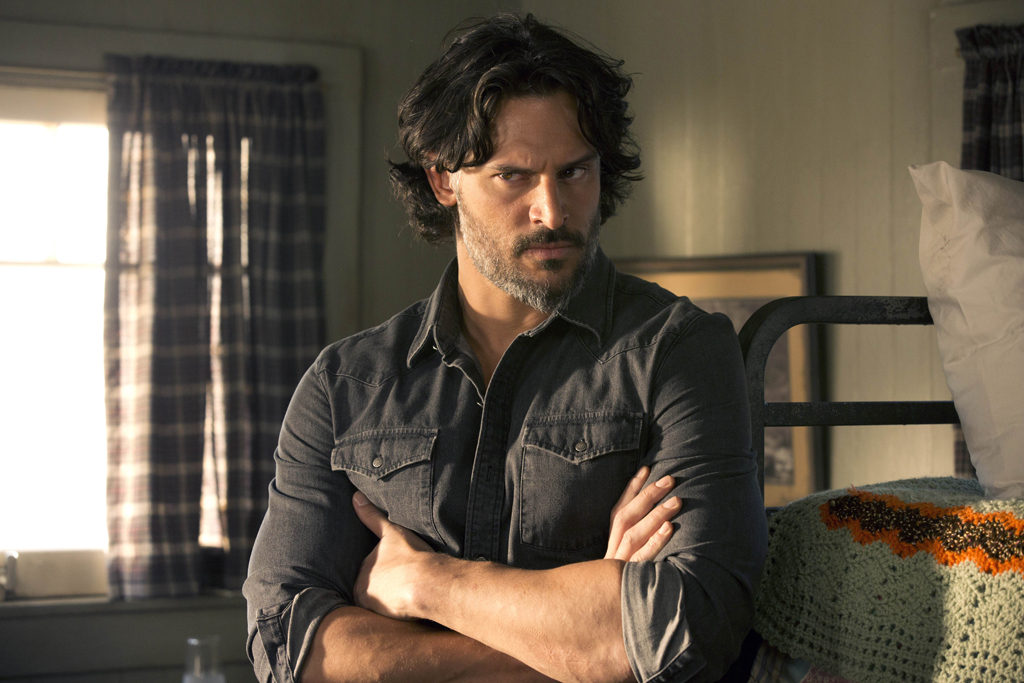 Joe Manganiello in a scene from the hit TV series True Blood.