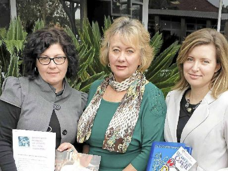 DANA'S LEGACY: Alison Gaylard, Ballina Shire councillor Sue Meehan and Toni McCaffery.