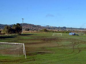 Man charged over damage to Thistles soccer grounds