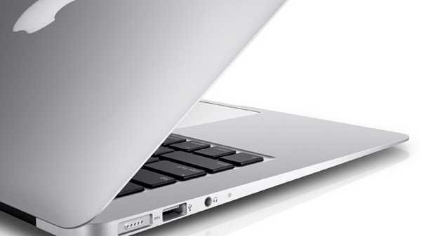 The super light weight MacBook Air has a battery which can go up to 12 hours.