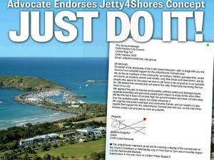 Just do it! Coffs Advocate endorses Jetty4Shores plan