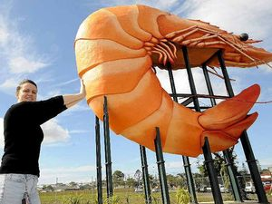 Grab a pic of you and the Big Prawn for chance to win