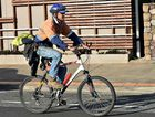 Shane Johnson, of Mackay, is a regular rider, travelling to and from work on two wheels.