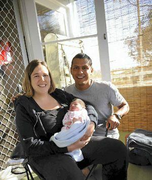 Pam Syposz and Aldo Olarte chose the hypnobirth technique.