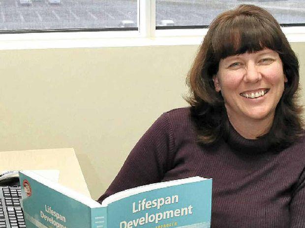 PRACTICAL: Dr Rachael Sharman of the University of the Sunshine Coast psychology department.