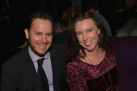 Stuart and Renee White at the Caloundra State High School's 50th anniversary ball held at Caloundra RSL. Photo: John McCutcheon / Sunshine Coast Daily