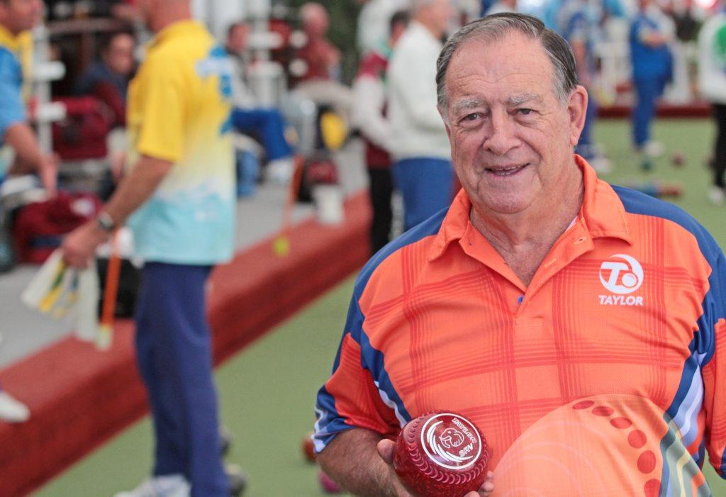 Neil Henricks, Mooloolaba Bowls Club building committee member. Photo Darryn Smith / Sunshine Coast Daily
