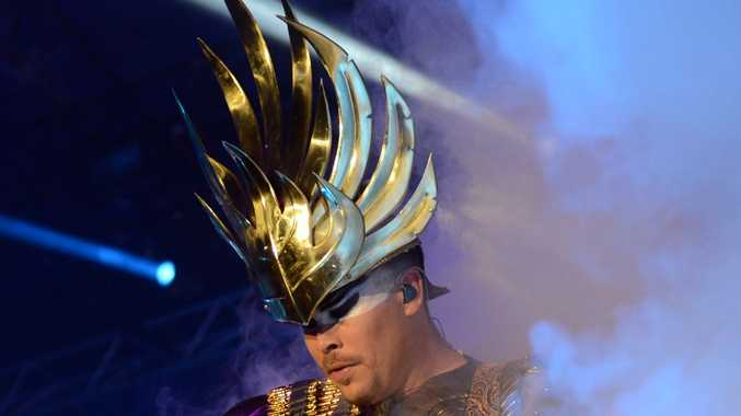 Luke Steele of Empire of the Sun.